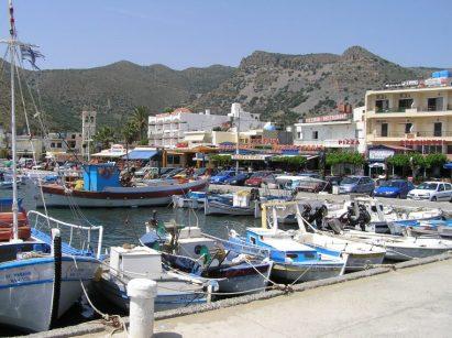 Crète Port d'Elounda