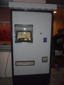 Naxos Bus transfert Machine automatique